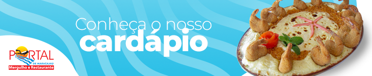 Banner cardápio Portal de Maracajau